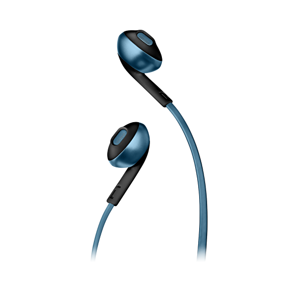 Jbl T205BT Kulak İçi Mikrofonlu Kablosuz Kulaklık Mavi