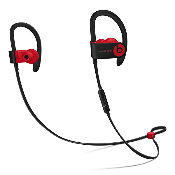 Powerbeats3 MRQ92ZE/A Kablosuz Kulak İçi Boyun Band Siyah Kırmızı