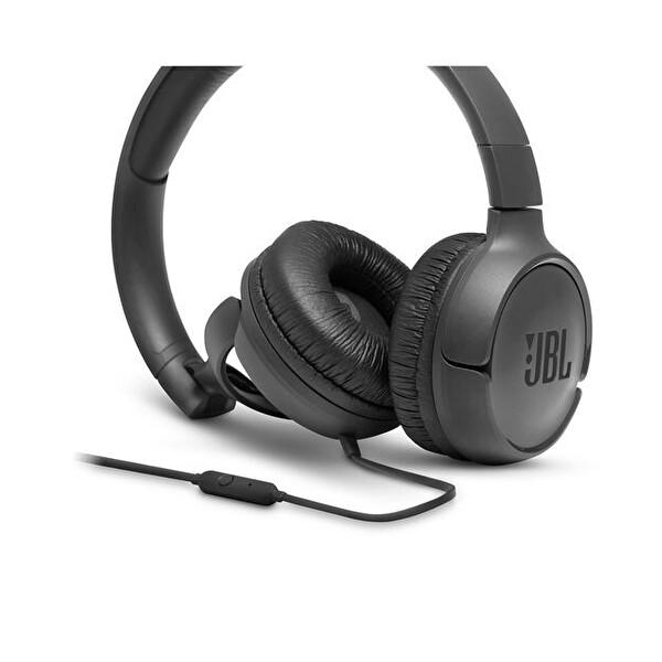 Jbl T500 Kulak Üstü Mikrofonlu Kulaklık Siyah