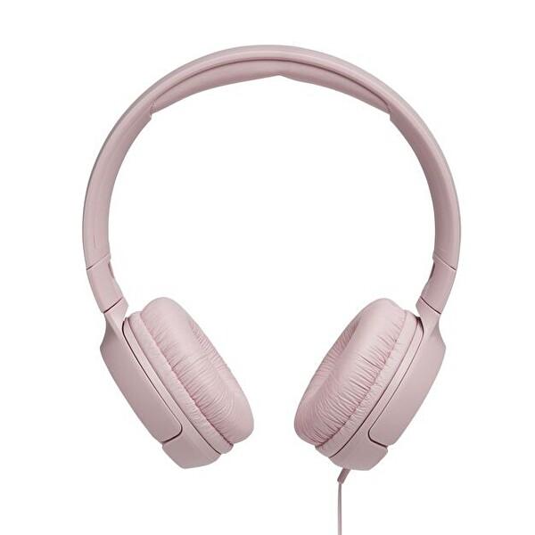 Jbl T500 Kulak Üstü Mikrofonlu Kulaklık Pembe
