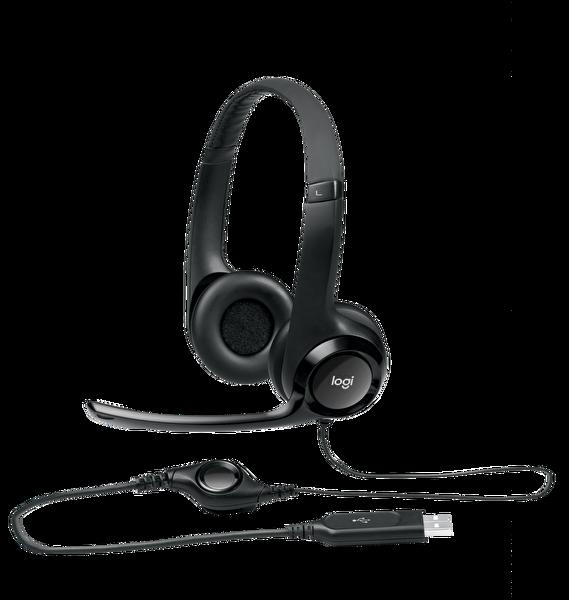 Logitech H390 Kablolu Usb Headset 981-000406