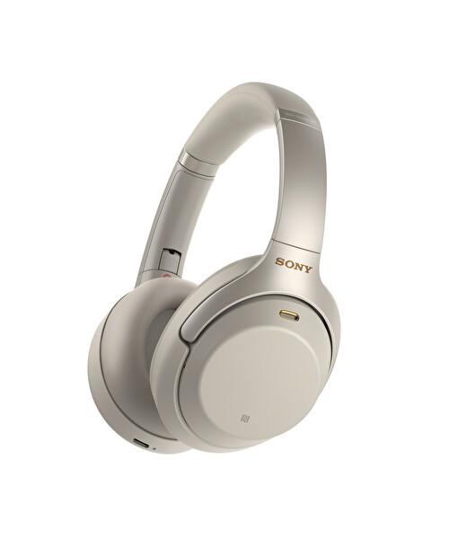 Sony WH1000XM3S.CE7 Kulak Üstü Mikrofonlu Gürültü Engelleme Özellikli Kablosuz Kulaklık Gümüş