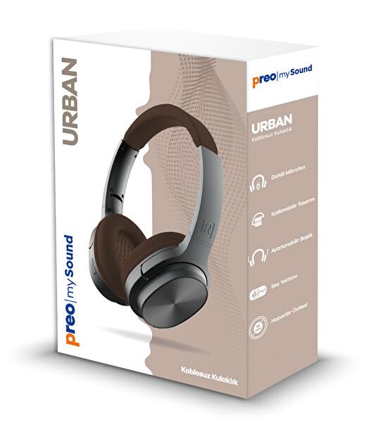 Preo My Sound Urban MS61NWS Bood Edition Kablosuz Kulak Üstü Kulaklık