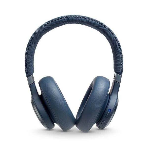 Jbl LIVE650BTNC ANC Kablosuz Bluetooth Kulaklık Ct Oe Mavi