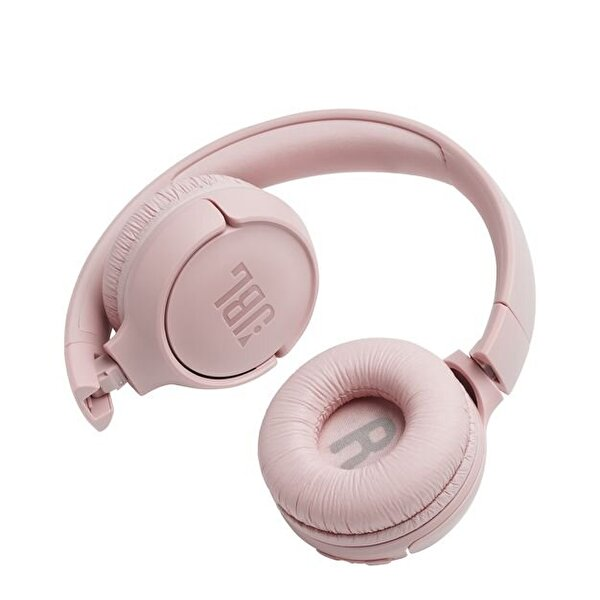 Jbl T500BT Kulak Üstü Mikrofonlu Kablosuz Kulaklık Pembe