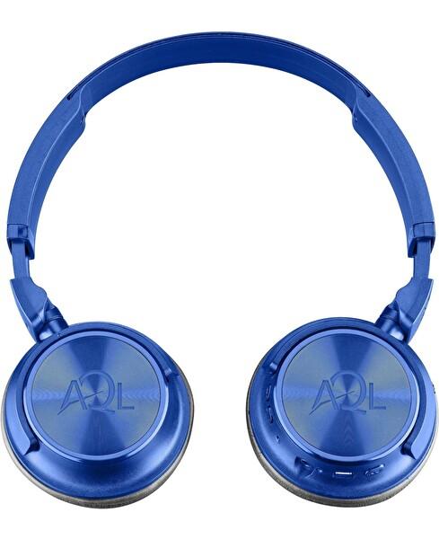 Cellularline Mavi Helios Kulak Üstü Bluetooth Kulaklık