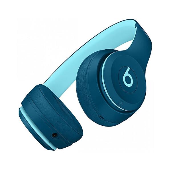 Beats MRRH2EE/A Solo3 Kulak Üstü Kablosuz Bluetooth Kulaklık POP Mavi