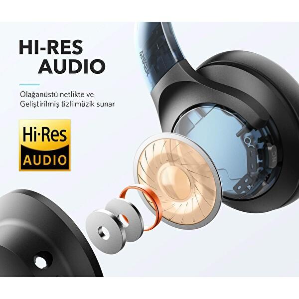 Anker Soundcore Life Q20 Kulak Üstü Kablosuz Bluetooth Siyah Kulaklık