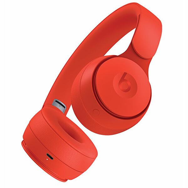 Beats MRJC2EE.A Solo PRO Kulak Üstü Kablosuz Bluetooth NC Kulaklık Kırmızı