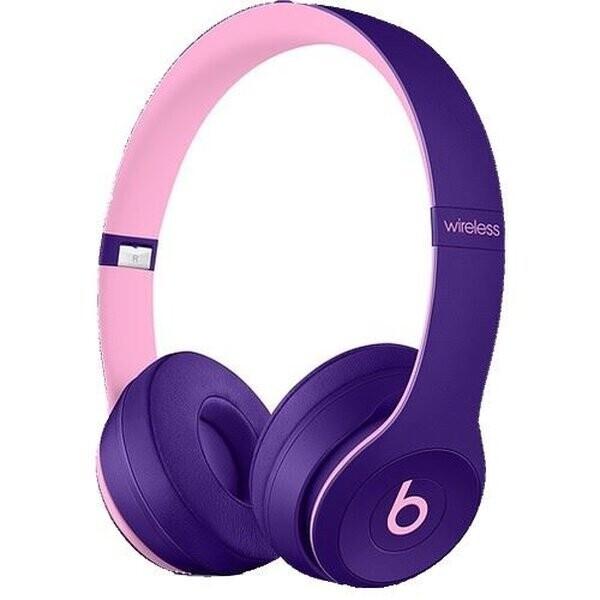 Beats MRRJ2EE/A Solo3 Kulak Üstü Kablosuz Bluetooth Kulaklık Pop Mor - TESHIR