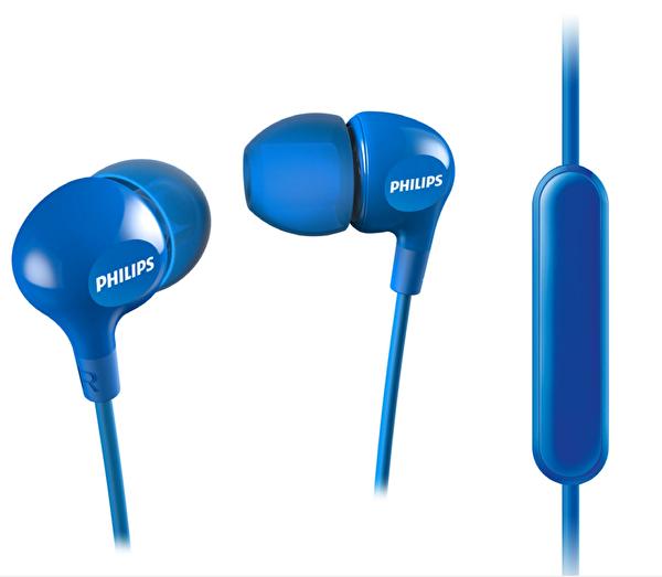 Philips She3555Bl Mikrofonlu Kulak İçi Kulaklık Mavi