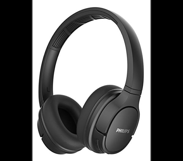 Philips TASH402BK Kulak Üstü Mikrofonlu Kablosuz Kulaklık Siyah