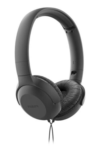 Philips TAUH201BK Kulak Üstü Mikrofonlu Kablolu Kulaklık Siyah