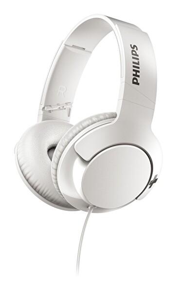 Philips SHL3175WT Kulak Üstü Mikrofonlu Kablolu Kulaklık Beyaz