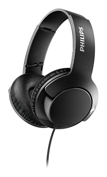 Philips SHL3175BK Kulak Üstü Mikrofonlu Kablolu Kulaklık Siyah