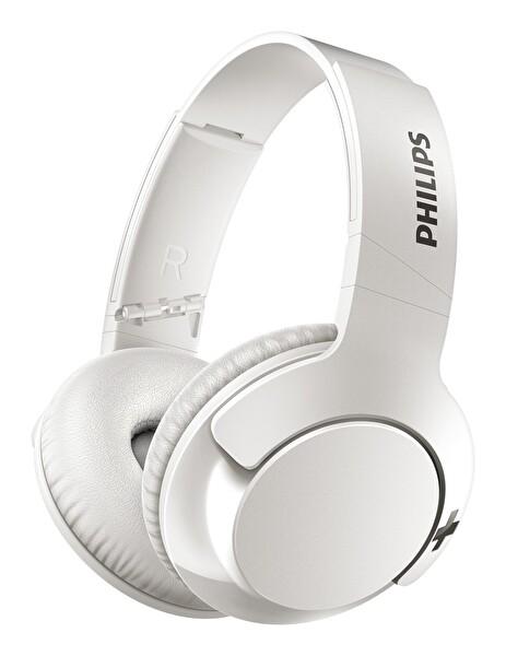 Philips SHB3175WT Kulak Üstü Mikrofonlu Kablosuz Kulaklık Beyaz
