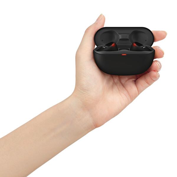 Sony WF-SP800N Gürültü Engelleme Özellikli IP55 Tamamen Kablosuz Spor Kulaklık Siyah