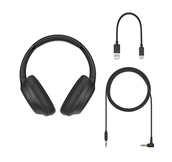 Sony WH-CH710N Gürültü Engelleme Özellikli Kablosuz Kulak Üstü Kulaklık Siyah
