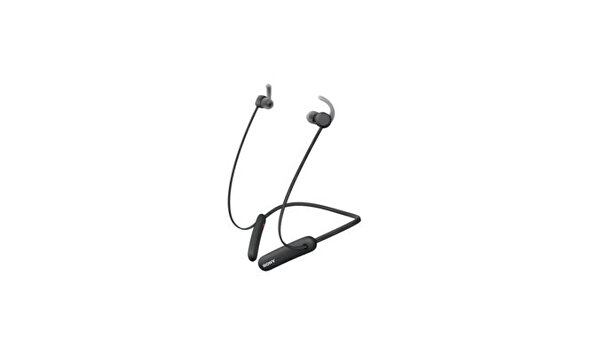Sony WI-SP510 Extra Bass Özellikli IPX5 Boyun Bantlı Kablosuz Spor Kulaklık Siyah