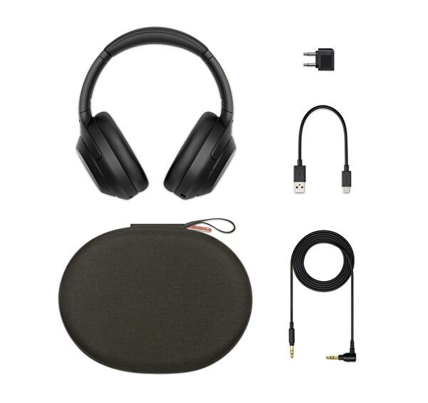 Sony WH1000XM4 Kulak Üstü Mikrofonlu Gürültü Engelleme Özellikli Kablosuz Kulaklık Siyah