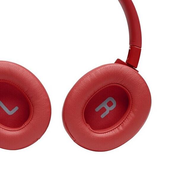 Jbl T700BT Kulak Üstü Mikrofonlu Kablosuz Kulaklık Kırmızı