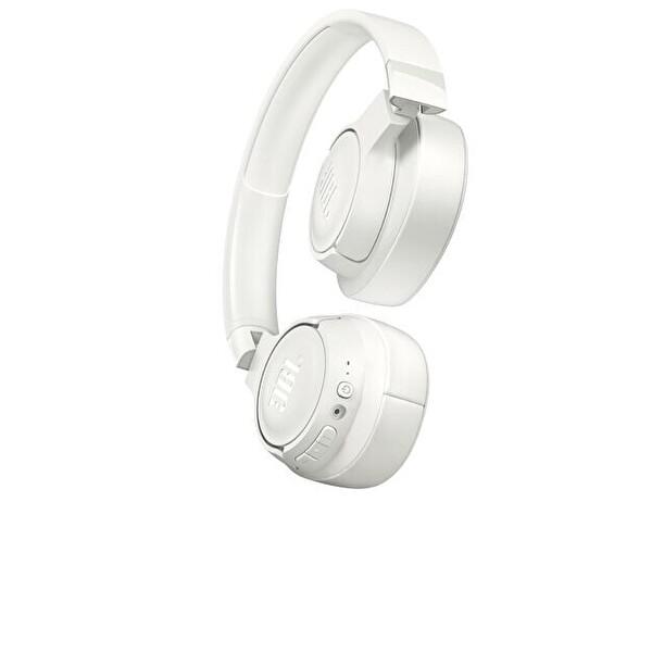 Jbl T700BT Kulak Üstü Mikrofonlu Kablosuz Kulaklık Beyaz