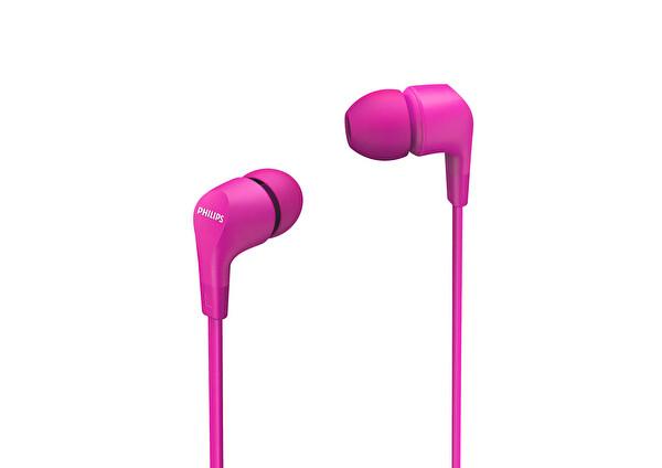 Philips TAE1105PK/00  Pembe Kablolu Kulak İçi Kulaklık