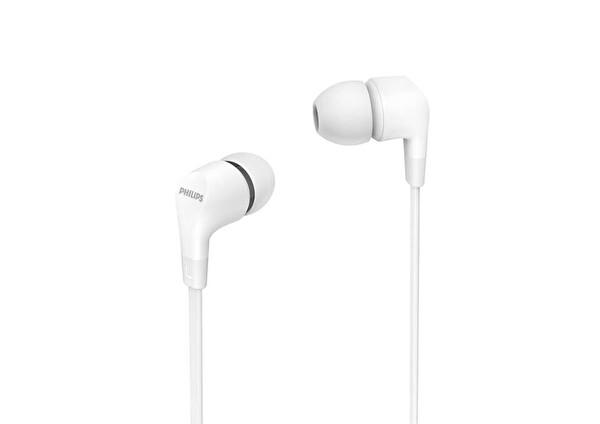 Phılıps TAE1105WT/00  Beyaz Kablolu Kulak İçi Kulaklık