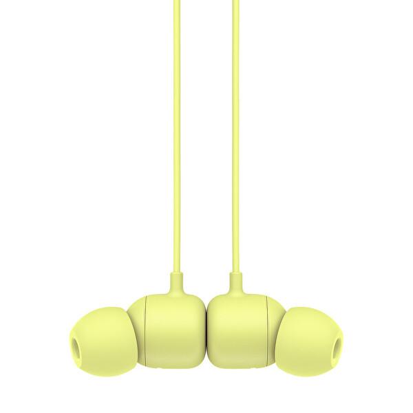 Beats Flex MYMD2EE/A Tüm Gün Kullanım İçin Kablosuz Boyun Bantlı Kulak İçi Kulaklık Yuzu Sarısı
