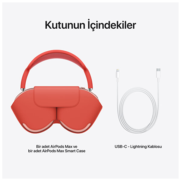 Apple AirPods Max MGYM3TU/A Kablosuz Kulak Üstü Kulaklık Pembe