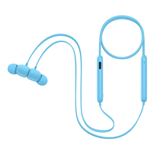 Beats Flex MYMG2EE/A Tüm Gün Kullanım İçin Kablosuz Boyun Bantlı Kulak İçi Kulaklık Alev Mavisi