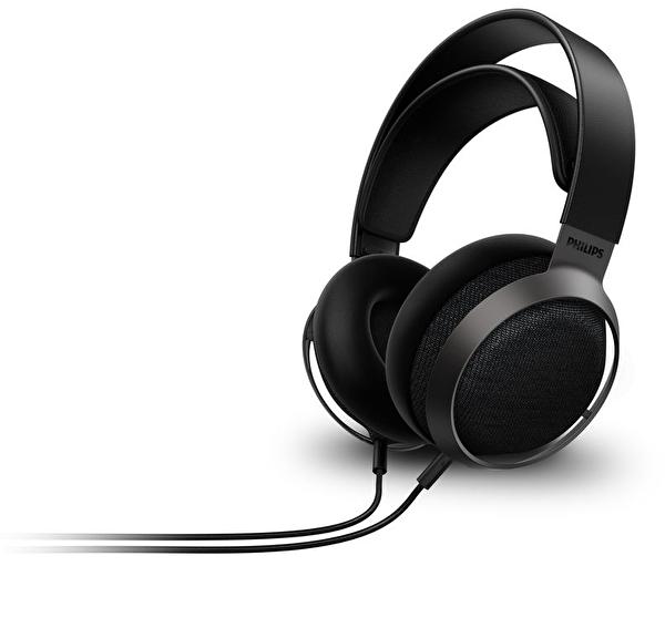 Philips Fidelio X3 Yüksek Çözünürlük Ses Kaliteli Kablolu Kulak Üstü Kulaklık Siyah