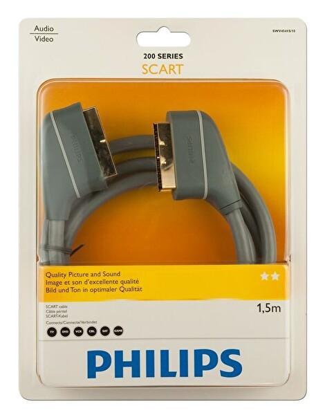 Philips Swv4541S Gold Scart 1.5M Kablo
