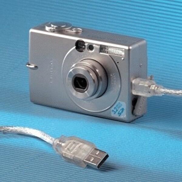 Hama Usb 2.0 A Fış - Mını B Fış Transparan 0.75M Kablo
