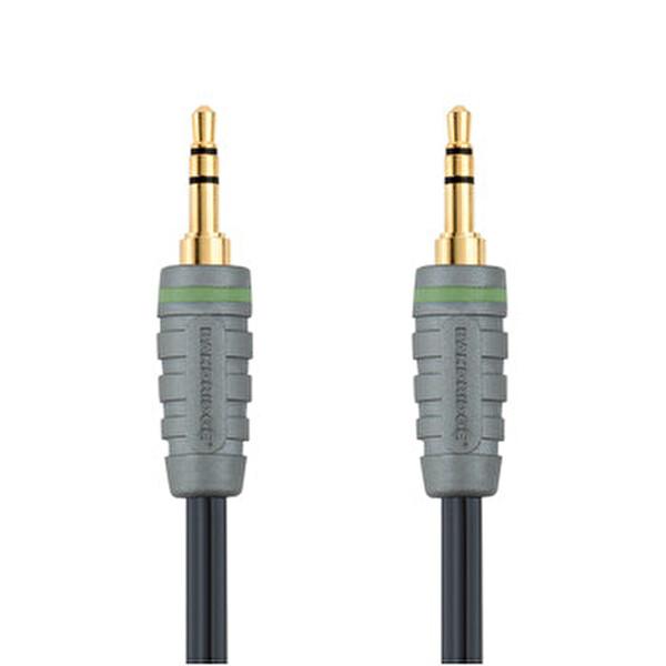 Bandridge Bal3301 3.5mm - 3.5mm 1M Audio Kablo