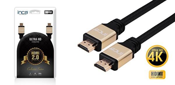 Inca IHD-02 2.0 V 2 Metre HDMI To HDMI Kablo