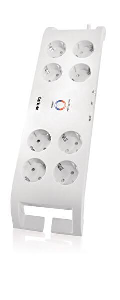 Philips Spn3080B/10 900 J 8 Li Akım Korumalı Priz (2 M)
