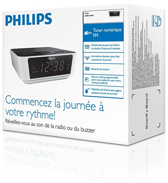 Philips AJ3115/12 Alarmlı Saatli Radyo