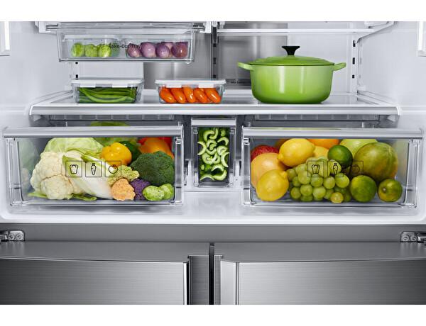 Samsung Rf85k90127f Inox Gardrop Tipi No Frost Buzdolabı