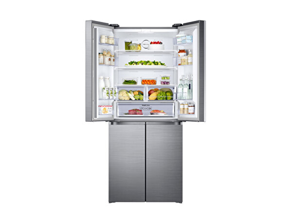 Samsung RF50K5920SL/TR Triple Cooling Teknolojili Gardırop Tipi No-Frost Buzdolabı