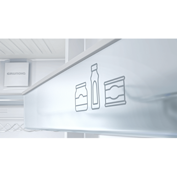 Grundig GRNE 4301 A+ 430 Lt Beyaz Çift Kapılı No Frost Buzdolabı