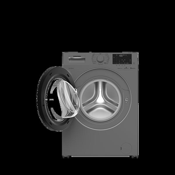 Grundig Gwm 81013 S 8 KG 1000 Devir Çamaşır Makinesi Gümüş
