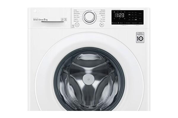 Lg F4r3tyw3we  8 KG 1400 Devir Buharlı Çamaşır Makinesi