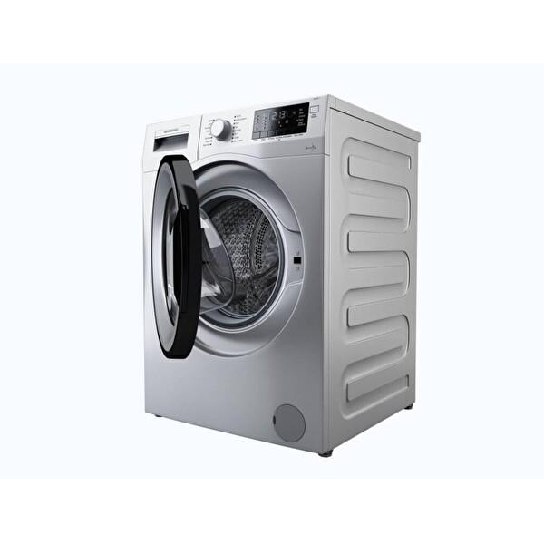 Grundig GWM9901S A+++ 9 Kg  1000 Devir Gri Çamaşır Makinesi