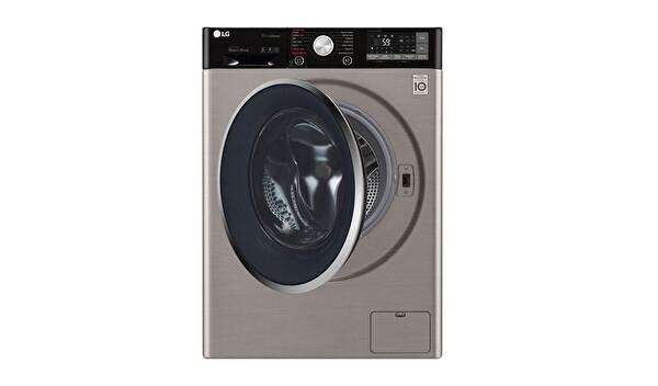 LG F4J9JSP2T 10 Kg 1400 Devir Gri Çamaşır Makinesi