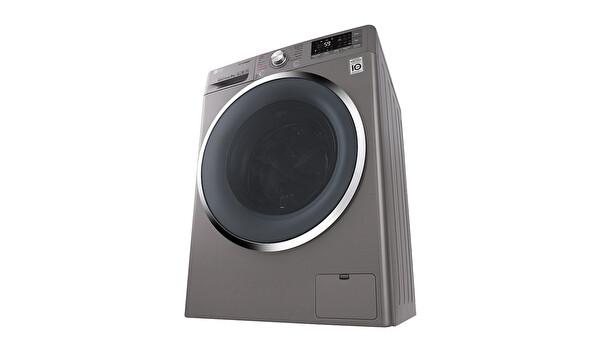 LG F4J8VSP2S 9 Kg 1400 Devir Buharlı Gri Çamaşır Makinesi