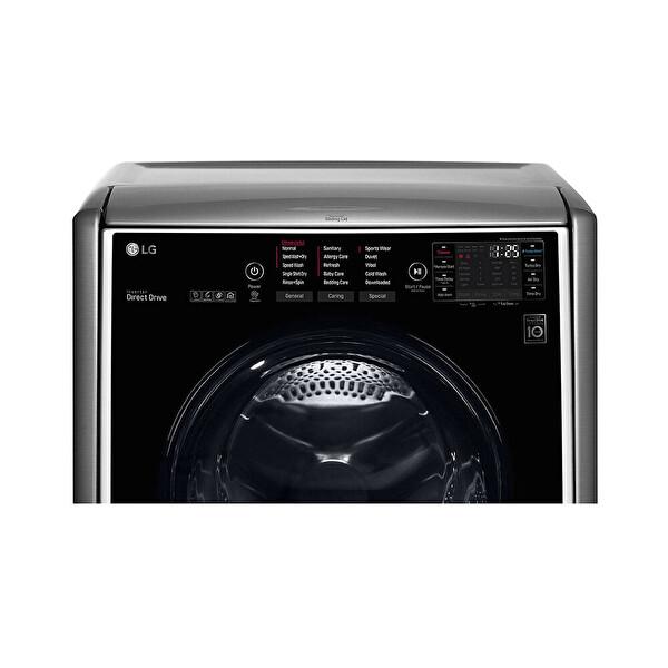 LG FH0C9CDHK7 17 Kg Yıkama 10 Kg Kurutma Gri Kurutmalı Çamaşır Makinesi