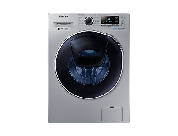 Samsung WD90K6B10OS/AH 9 Kg Yıkama/ 6 Kg Kurutmalı 1400 Devir Gümüş Çamaşır Makinesi