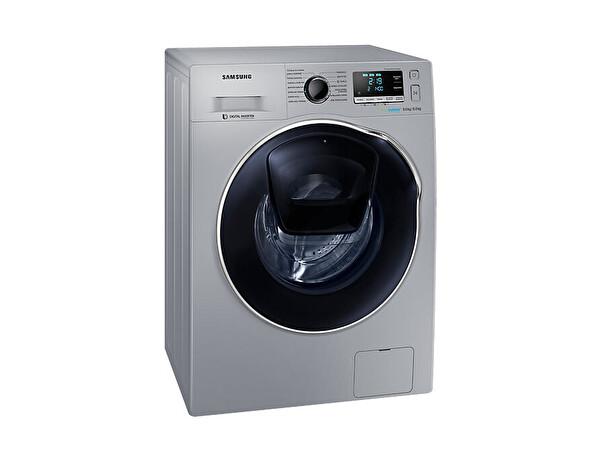 Samsung WD90K6B10OS/AH B 9 Kg 1400 Devir Kurutmalı İnox Çamaşır Makinesi