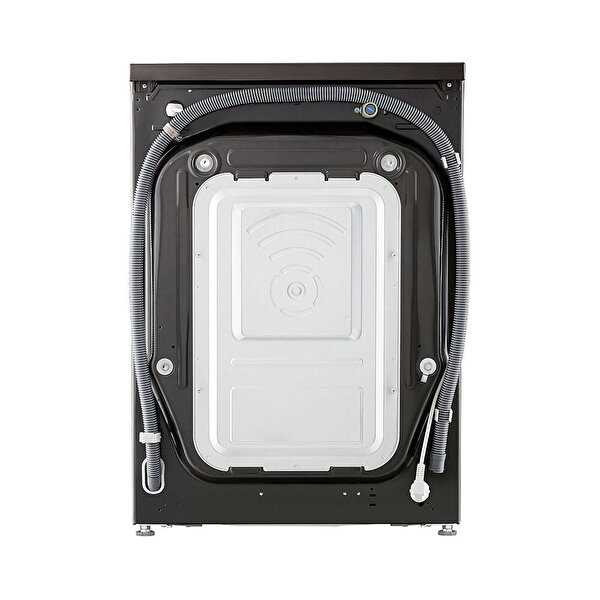 LG F4V9RCP2E.ABLPLTK A+++ 10,5 / 7 Kg Yıkama Kurutmalı Çamaşır Makinesi - Metalik Siyah